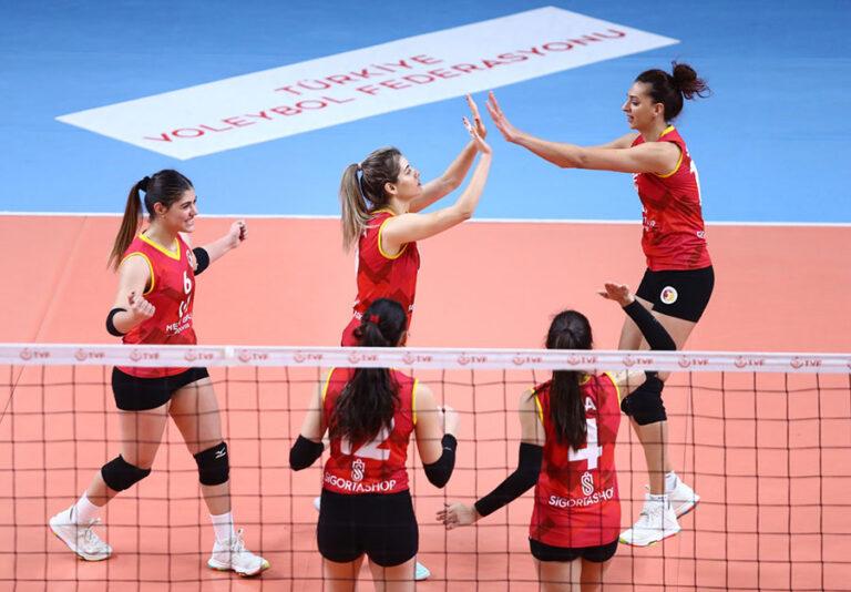 Mert Grup Sigorta, Ankara DSİ'yi 3-0 mağlup etti.